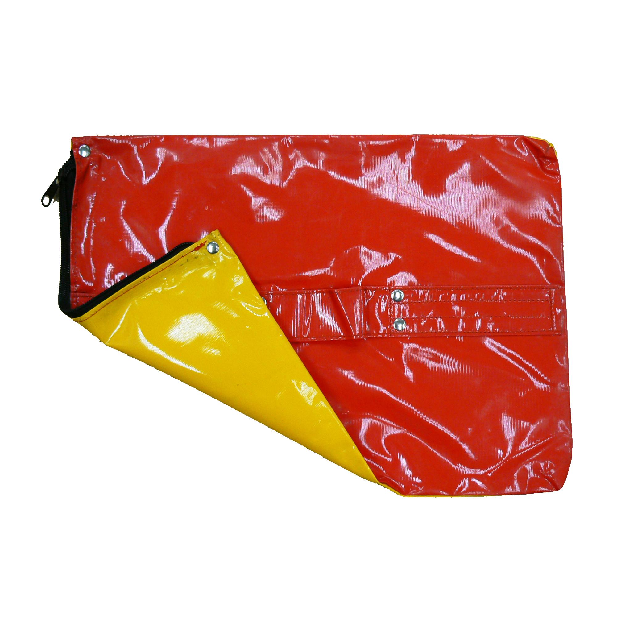 矢印板用重し(赤/黄) 390×305