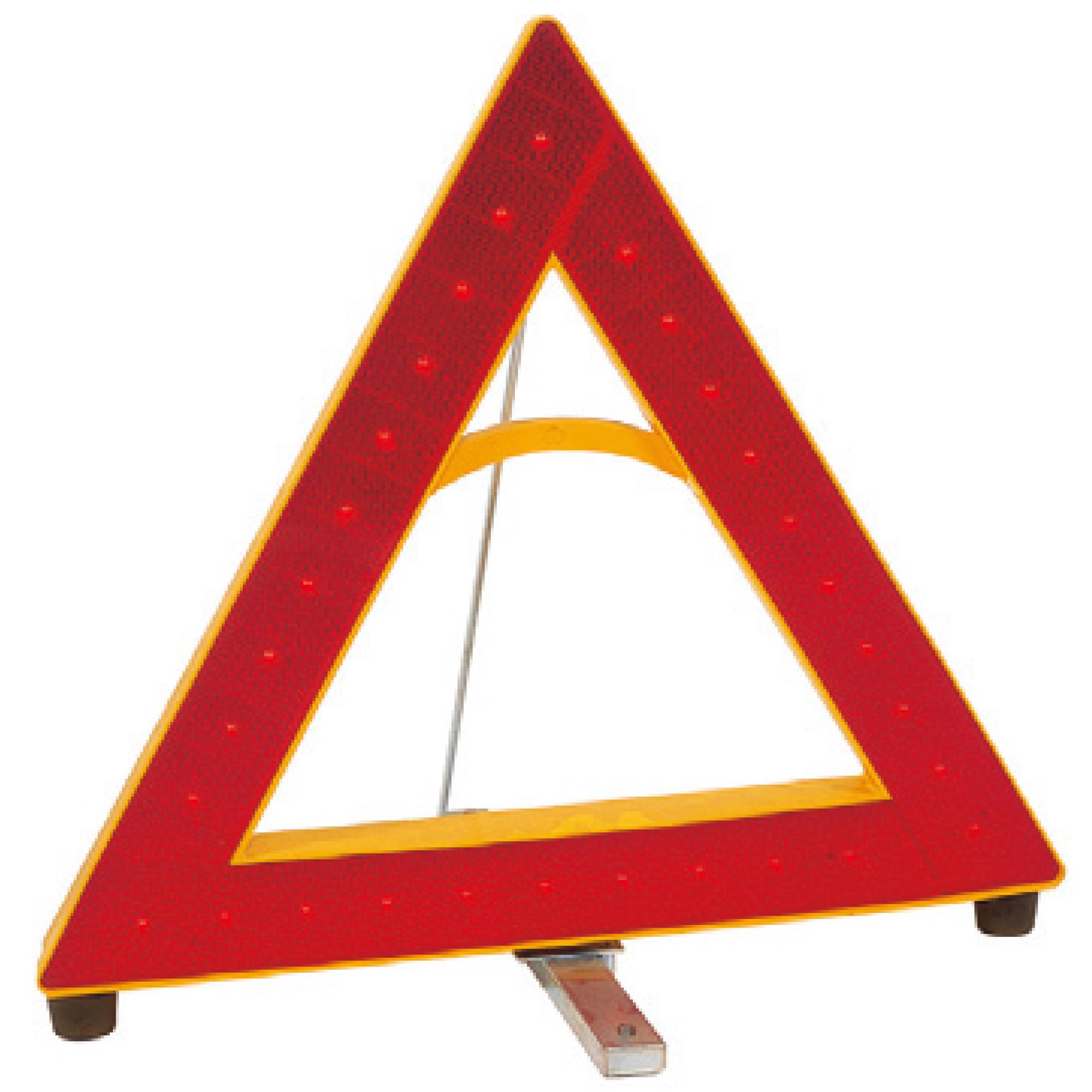 LED式車両停止表示板 デルタフラッシュ